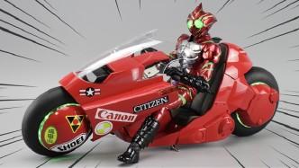 合金内构+酷炫声光,这款《阿基拉》金田的摩托车也太帅了!【涛哥测评】