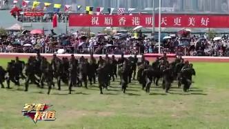 """驻港部队""""七一""""开放军营 吸引3万多市民参观"""