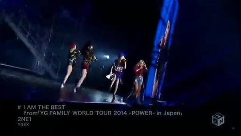 《I Am The Best 》YG FAMILY WORLD TOUR 2014 POWER  In Japan XCB