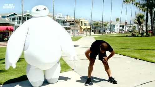Disney's Baymax from Big Hero 6 In Real Life - Disney IRL