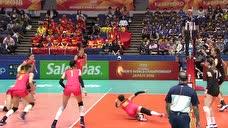 【原声】2018女排世锦赛:中国女排vs加拿大女排