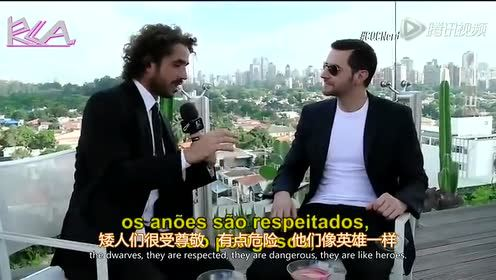 Richard Armitage Brazil CQC双语字幕