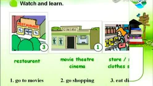 新八年级英语上册Unit 4 What's the best movie theater?