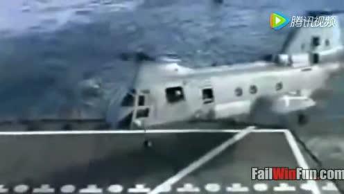 CH47降落坠海