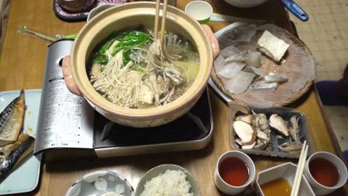 【爱子在日本】日本家庭的晚饭是什么样子的(火锅)