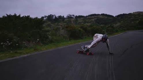 滑板速降体育