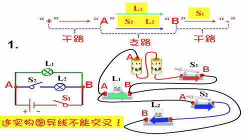 【初中物理屋】根据电路图连接实物图
