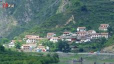 四川茂县受灾前后对比图曝光:山体垮塌前风景如画