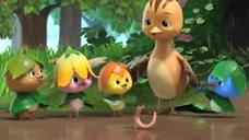 萌鸡小队:朵朵,麦奇,大宇他们都变成了葫芦娃的打扮,太萌了