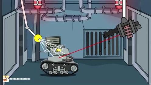 坦克世界搞笑小动画:坦克表彰大会