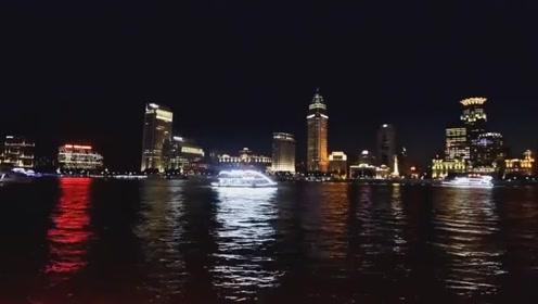 上海浦东滨江大道拍摄外滩夜景,众多电视剧在此取景