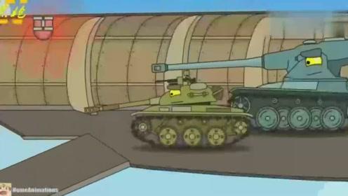 坦克世界搞笑动漫:平底锅很强?那拿着平底锅