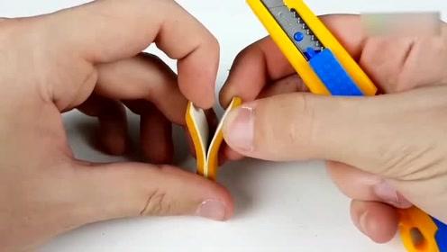 闺蜜爆笑互整:美女创意手工DIY文具用品,橡皮
