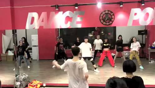 JAZZ街舞培训课堂录制