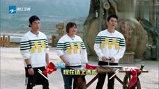 奔跑吧:大黑牛沦为报幕员,报幕字数太少,李晨表示很不满意!