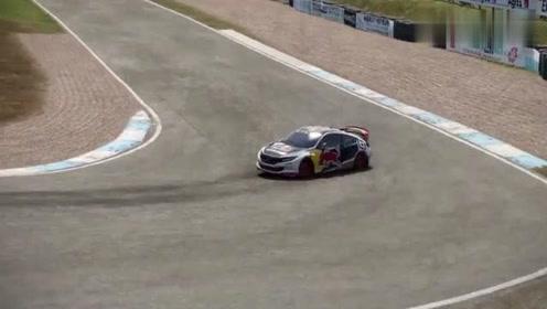 赛车计划2:G27手动挡漂移,停车后只见一股烟升起