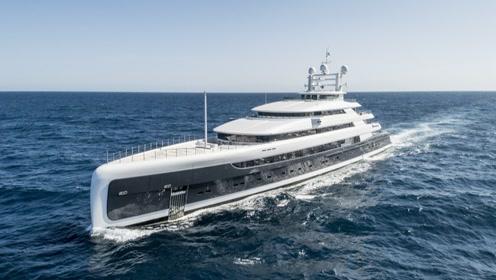 88米超级游艇,中集集团普莱德游艇倾力巨献