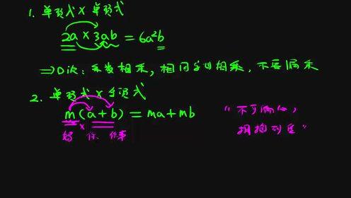 八年级数学上册第14章 整式的乘法与因式分解14.1 整式的乘法_flash动画课件