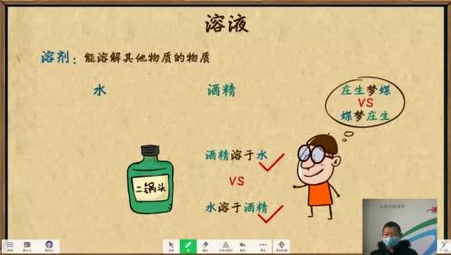 九年級化學下冊第九單元 溶液 課題1 溶液的形成
