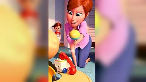 既然这么喜欢爸爸,以后带娃就交给爸爸,没毛
