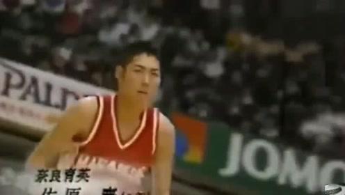 找到一个老视频1995年日本扣篮大赛比今年CBA还尴尬