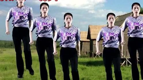 经典歌曲广场舞《饿狼传说》,音乐响起,不自觉跟着跳起来!