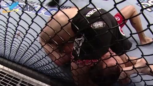 盘点UFC史上精彩木村锁!降服集锦,最后一个让人心碎不已!