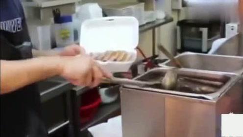 香港美食:鸿发卤水鹅肥而不腻,师傅斩肉也利索去骨取肉再浇勺汤汁真香!