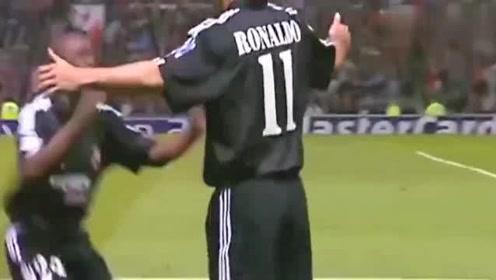 罗纳尔多欧冠最强一战帽子戏法带领皇马完胜弗格森的曼联