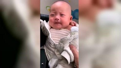 婴儿表情搞笑视频