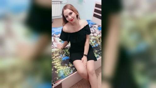 娶了个俄罗斯洋媳妇,拍视频时像淑女,生活中比母老虎还可怕!