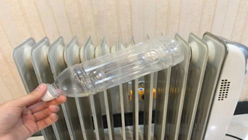 冬天开暖气,切记在暖气片上放个塑料瓶,幸亏及时知道,涨知识了