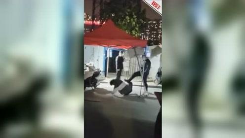 郑州警方通报黄河科技学院保安人员踢打学生:打人者被行拘5日