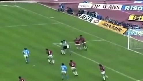 马拉多纳Vs古利特,1990 那不勒斯 Vs AC米兰 王牌对王牌