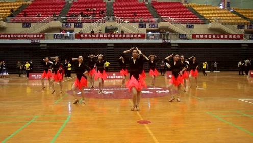 小舞鹰舞蹈培训参加2020第二届惠州市体育舞蹈锦标赛 惠州江西人平台