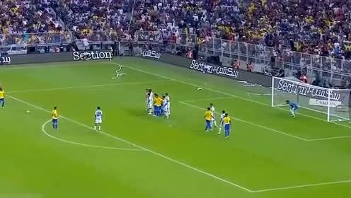 【集锦】巴西1-0阿根廷 内马尔助攻米兰达绝杀
