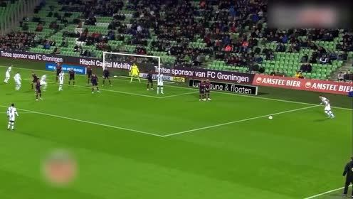 法兰克福球员: 艾迪尼-赫鲁斯蒂奇在格罗宁根集锦