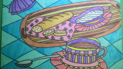 湘美版一年级美术上册第14课 营养早餐