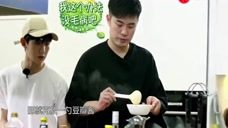 青春旅社:陈赫指导王源做麻婆豆腐!果真认真的男人最帅气!