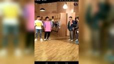 MC天佑录制《吐槽大会》转播候场休息室