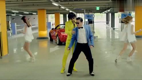 《江南style》重温鸟叔搞笑舞蹈艺术风采