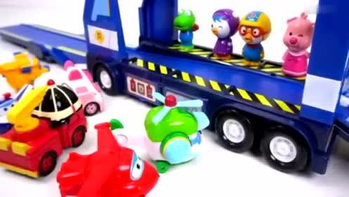 赛车总动员 挖掘机 挖土机 汽车总动员动画视频00