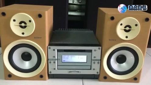 110v好声音试日本索尼cmtpx333微型音响颜值和音质都很好
