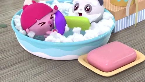 瑞奇宝宝:甜甜说他的善良的大鲨鱼!太好笑了,那妞妞是美人鱼