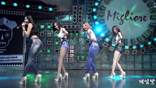 韩国女团热舞真脖子,美女性感完美,个个大长腿黑丝性感身材骑夹曲线图片
