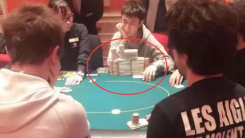 网友澳门赌场偶遇王思聪,身前摆满上亿筹码,贫穷限制了我的想象!