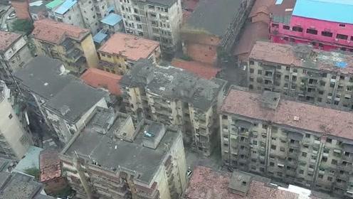 南宁老?#29992;?#21306;,高楼里的历史即将淹没在拆迁