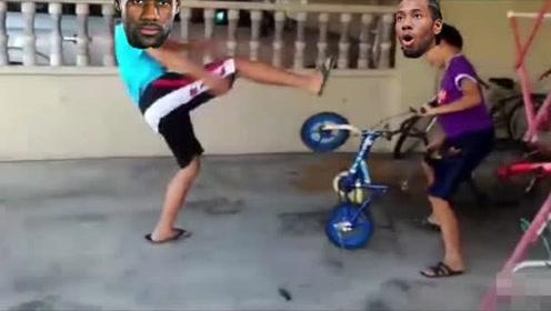 NBA轻松送时刻:恶搞詹姆斯伦纳德单挑,太逗了!