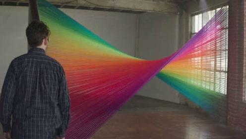 当色盲患者第一次见到彩色的世界……@柚子木字