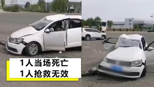 慘烈!陜西一駕校教練開車致2死,現場群眾:車原地轉了幾圈才停